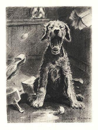 Airedale Terrier Print - Morgan Dennis