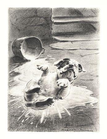 Bulldog Print - Morgan Dennis