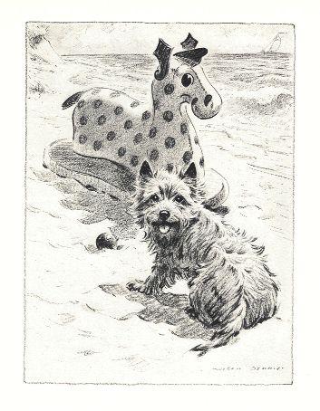Cairn Terrier Print - Morgan Dennis
