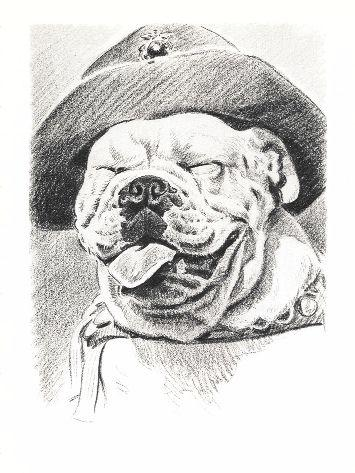 English Bulldog Print - Morgan Dennis