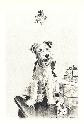 Wire Fox Terrier Print - Morgan Dennis