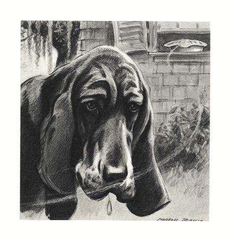 Bloodhound Print - Morgan Dennis