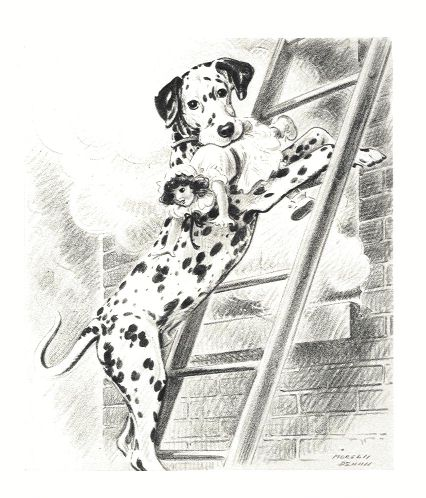Dalmatian Print - Morgan Dennis