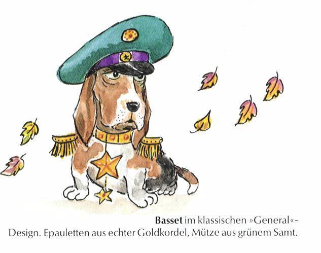 Basset Hound Print - German