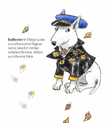 Bull Terrier Print - German