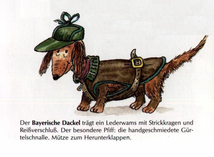 Dachshund Print - German