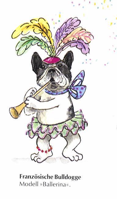 French Bulldog Print - German