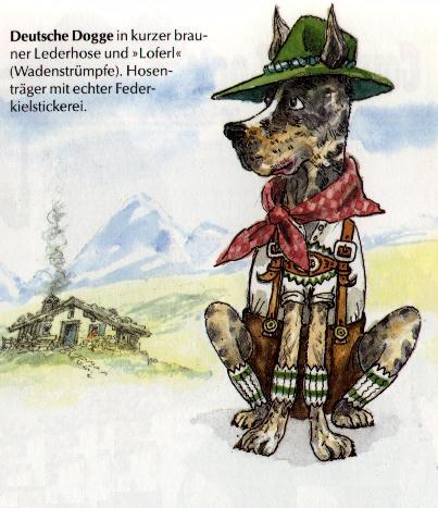 Great Dane Print - German