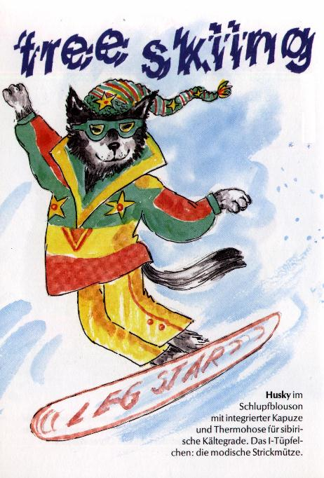 Siberian Husky Print - German