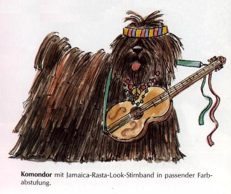 Komondor Print - German